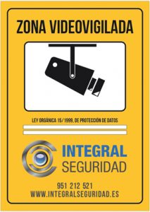 Instalaci n de videovigilancia y c maras de seguridad en - Cartel de videovigilancia ...